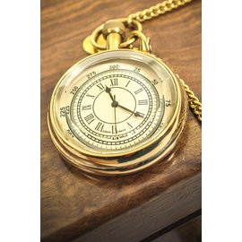 Pocket Watch, Clear Face - Gold by Western Fashion Inc.