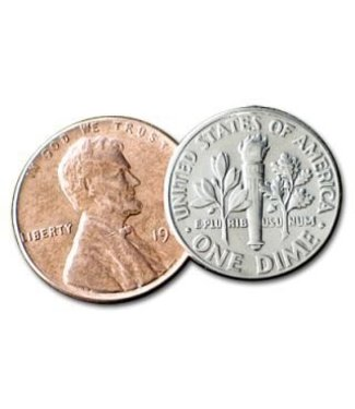 Dime And Penny by Daytona Magic (M10)