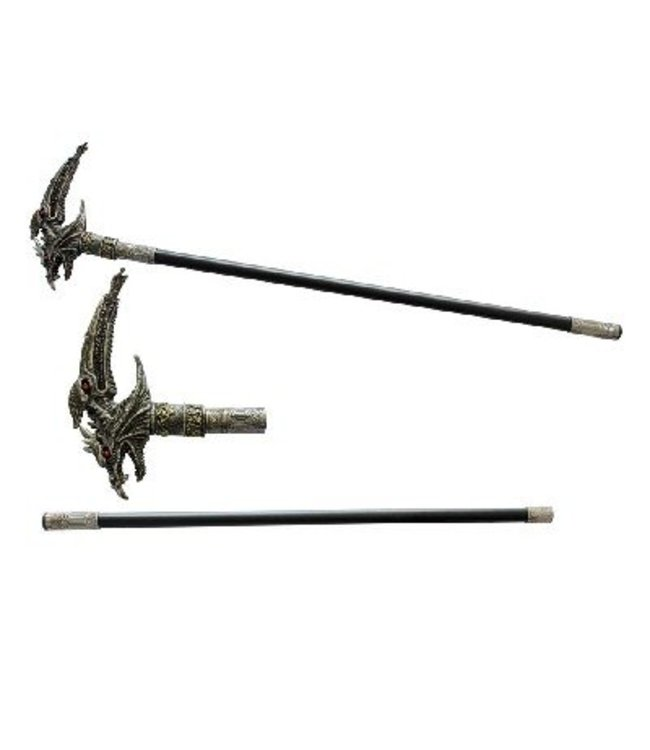 Walking Cane Dragon 33 3/4""