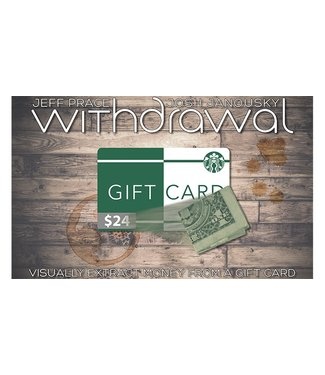 Withdrawal (USD) by Jeff Prace and Josh Janousky