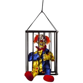 "Animated Caged Clown - 10.5"" By Kids Of America Corp"