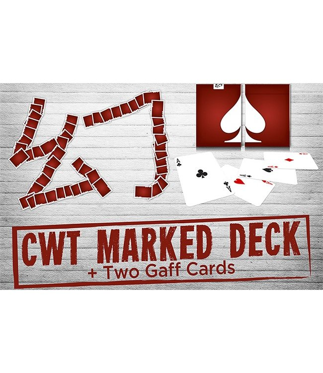 CWT Marked Deck by CHUANG WEI TUNG From Taiwan Ben Magic