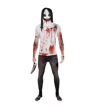 Morphsuits Jeff The Killer Morphsuit Medium