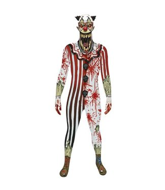 Morphsuits Zombie Clown Jaw Dropper Morphsuit Large