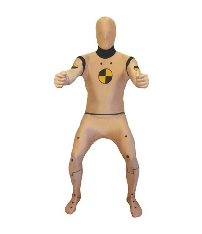 Morphsuits Crash Test Dummy Adult Morphsuit Large