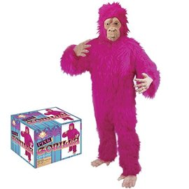 Pink Gorilla Costume Adult One Size by Loftus International