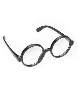 Glasses Black Frame Round by Loftus International