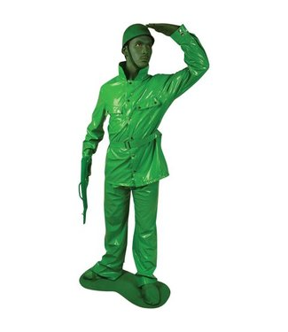 Morh Costume Co. Saving Private Morph Green - Adult Large