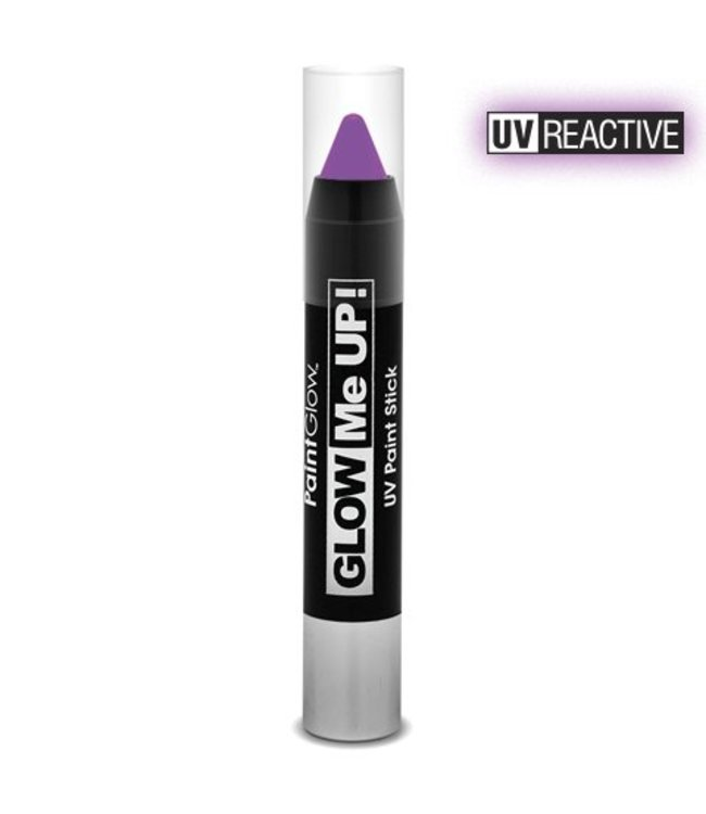 PaintGlow Violet Neon UV Paint Stick 3.5G