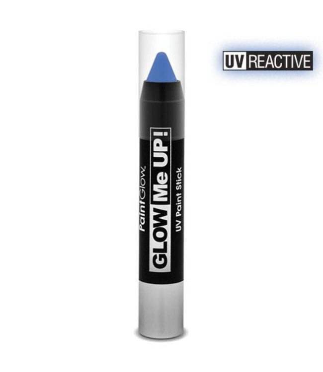 PaintGlow Blue Neon UV Paint Stick 3.5G