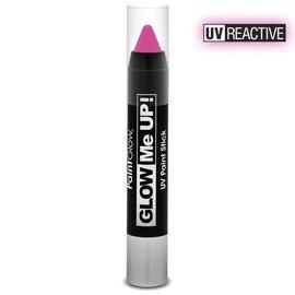 PaintGlow Pink Neon Uv Paint Stick 3.5G