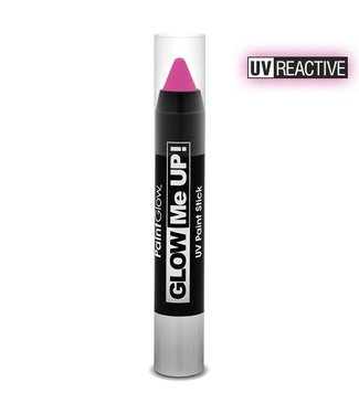 PaintGlow Pink Neon Uv Paint Stick 3.5G