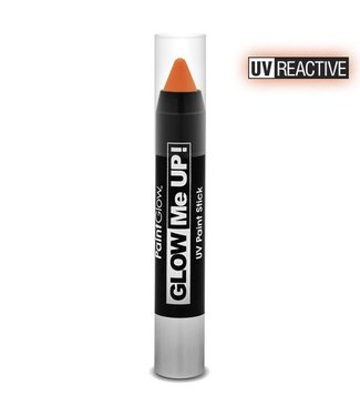 PaintGlow Orange Neon Uv Paint Stick 3.5G