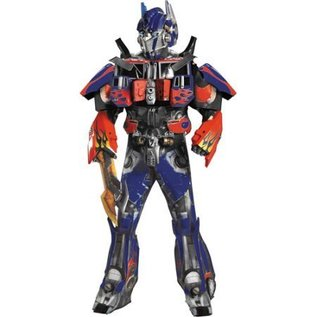 Disguise Optimus Prime Theatrical W Vacuform Plus 3D