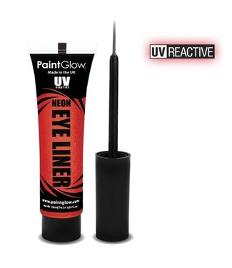 PaintGlow Red Neon Uv Eye Liner 15Ml