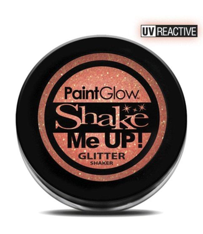 PaintGlow Peach Paradise Neon UV Glitter Shaker