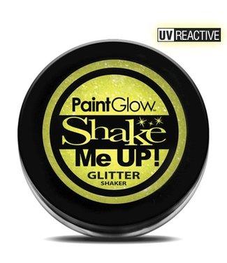 PaintGlow Sherbet Lemon Neon UV Glitter Shaker