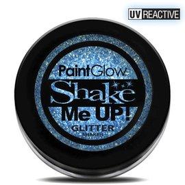 PaintGlow Ice Blue Neon UV Glitter Shaker