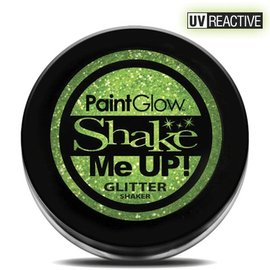 PaintGlow Mint Green Neon UV Glitter Shaker