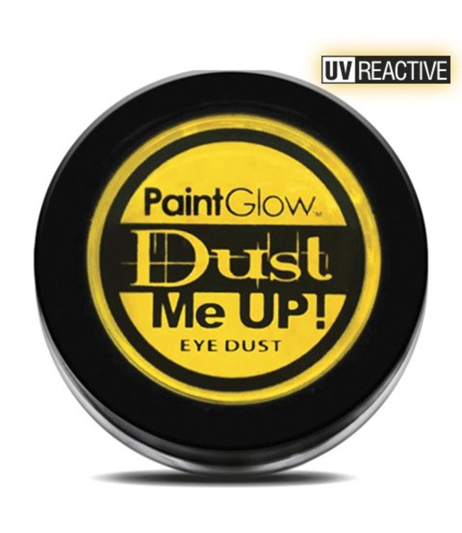 PaintGlow Yellow Neon UV Eye Duster 5G