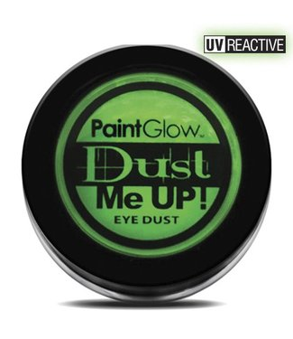 PaintGlow Green Neon UV Eye Duster 5G