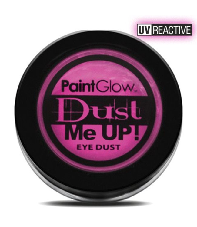 PaintGlow Pink Neon UV Eye Duster 5G