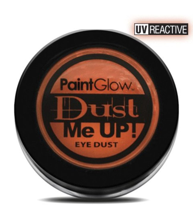 PaintGlow Orange Neon UV Eye Duster 5G
