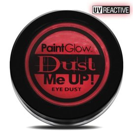 PaintGlow Red UV Neon Eye Duster 5G