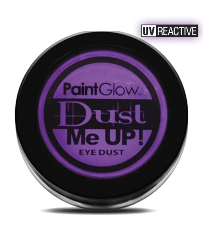 PaintGlow Violet Neon UV Eye Duster 5G