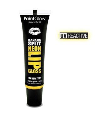 PaintGlow Banana Split Neon UV Lipgloss 15Ml