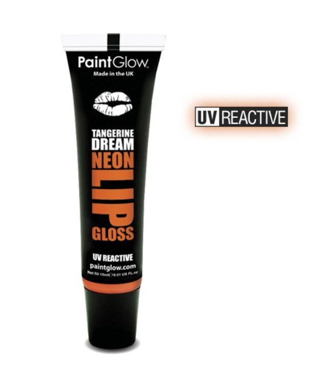 PaintGlow Tangerine Dream Neon UV Lipgloss 15Ml