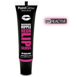 PaintGlow Raspberry Ripple Neon UV Lipgloss 15Ml