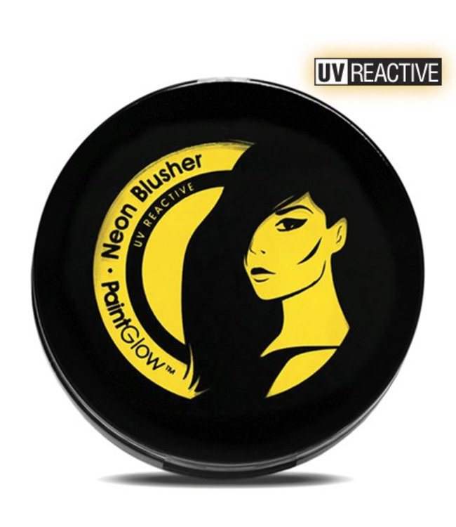 PaintGlow Yellow Neon UV Blusher 3.5G