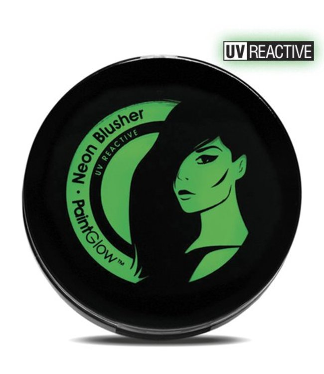 PaintGlow Green Neon UV Blusher 3.5G