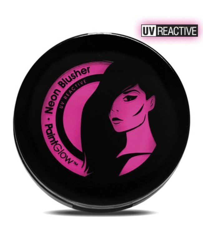 PaintGlow Pink Neon Uv Blusher 3.5G