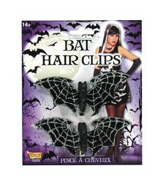 Forum Novelties Bat Glitter Hair Clip