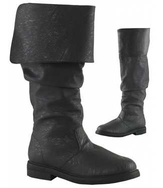 Robin Hood Boots 100, Black - XLG by Funtasma