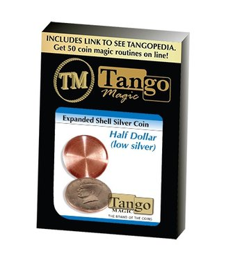 Expanded Shell Silver Half Dollar (D0003) by Tango Magic