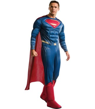 Rubies Costume Company Deluxe DCU Superman Muscle Chest - XL