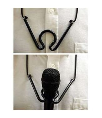 Gim Crack - Microphone Holder by John Swomley From Tricky-Person Productions (M10)
