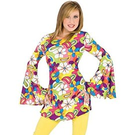 Funny Fashion Flower Power Hippie - Small