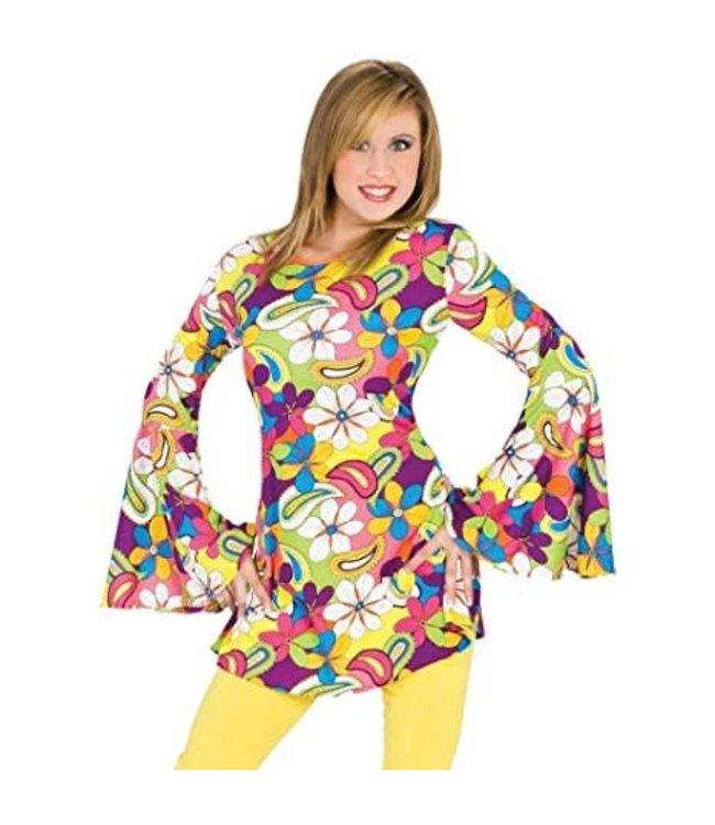 Funny Fashion Flower Power Hippie - Small