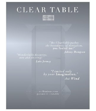 Clear Table by CS Illusion