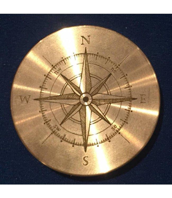 Ronjo Okito Box Lid Compass 3, Half Dollar