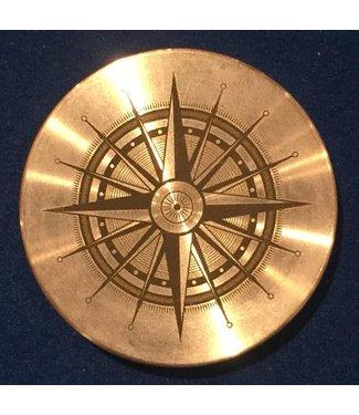 Ronjo Okito Box Lid Compass 2, Half Dollar