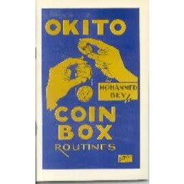 Okito Coin Box Routines by Mohammed Bey from E-Z Magic