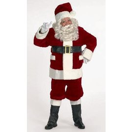Halco Rich Burgundy Santa Suit With Outer Pockets 42-48