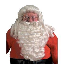 Halco Long Full Natural Santa Wig And Beard Set w/adjustable Mustache  (/202)