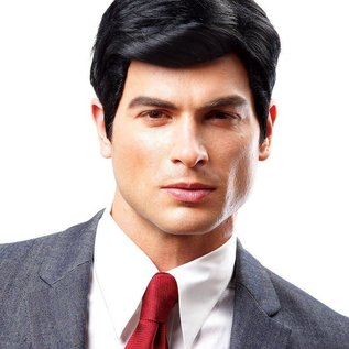 Costume Culture by Franco American Real Man Wig, Black