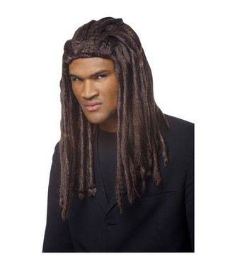 Costume Culture by Franco American Deluxe Dreadlock Wig, Dark Brown